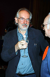 Illustrator ALAN LEE at a private view and auction of a collection of paintings, drawings and doodles by well known personalities to mark the Book launch of Ackroyd's Ark in Christie's, 8 King Street, St.James's, London on 20th September 2004 in aid of Tusk Trust.<br /><br />NON EXCLUSIVE - WORLD RIGHTS