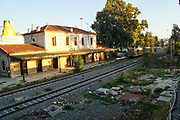 Disused and neglected Train station