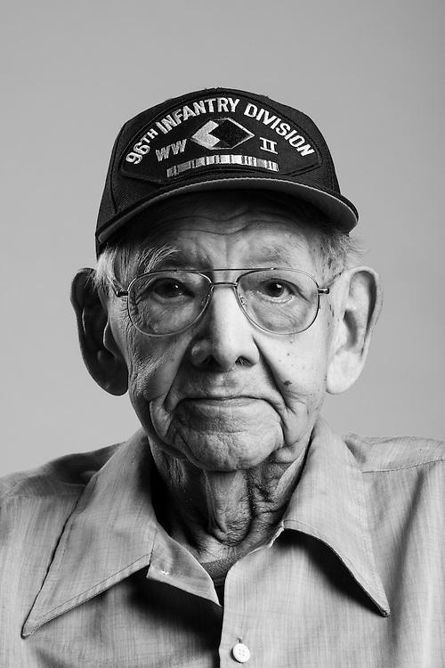 Jose M. Hernandez<br /> Army<br /> E-5<br /> Infantry<br /> Oct. 1942 - Oct. 1946<br /> WWII (Pacific)<br /> <br /> <br /> Veterans Portrait Project<br /> San Antonio, TX