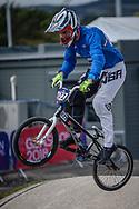 2018 UEC European Elite Championships, Glasgow (UK)<br /> BERTAGNOLI Pietro #622 (ITALY)