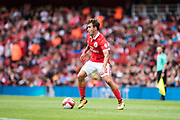 Benfica midfielder Andre Horta (8) during the Emirates Cup 2017 match between Leipzig and Benfica at the Emirates Stadium, London, England on 30 July 2017. Photo by Sebastian Frej.