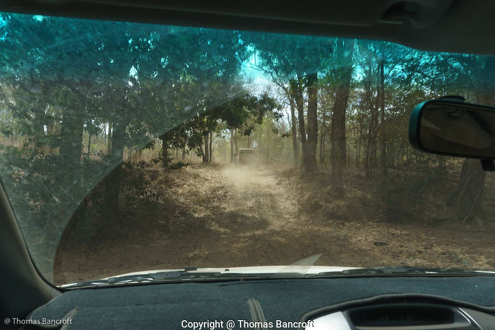 The road to the airport at Archer River on Cape York Peninsula.