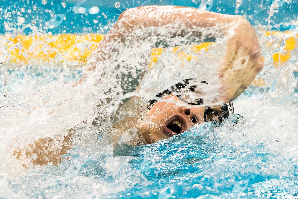 BERNEK Peter HUN<br /> Men's 400m Freestyle<br /> Doha Qatar 05-12-2014 Hamad Aquatic Centre, 12th FINA World Swimming Championships (25m). Nuoto Campionati mondiali di nuoto in vasca corta.<br /> Photo Giorgio Scala/Deepbluemedia/Insidefoto