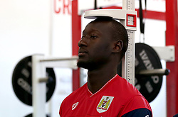 Famara Dieddiou of Bristol City arrives for fitness tests and training - Mandatory by-line: Robbie Stephenson/JMP - 10/07/2017 - FOOTBALL - Failand Training Ground - Bristol, United Kingdom - Bristol City Preseason Training