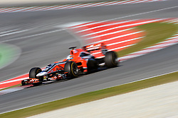 18.02.2011, Circuit de Catalunya, Barcelona, ESP, Formel 1 Test 3 2011,  im Bild Jerome d'Ambrosio (BEL) Virgin RacingEXPA Pictures © 2011, PhotoCredit: EXPA/ nph/  Dieter Mathis       ****** out of GER / SWE / CRO  / BEL ******