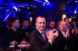 """12.04.2019, Palais Wertheim, Wien, AUT, ÖVP, """"Europa-Get-Together"""" der Jungen Österreichischen Volkspartei. im Bild EVP-Spitzenkandidat zur Europawahl Manfred Weber // MEP Manfred Weber (European Peoples Party)  during get together of the Youth of the European People's Party regarding to Eurpean Parliment Elections of the Austrian People' s Party in Vienna, Austria on 2019/04/12. EXPA Pictures © 2019, PhotoCredit: EXPA/ Michael Gruber"""
