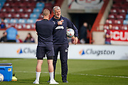 Glyn Hodges Wimbledon First Team Assistant Manager during the EFL Sky Bet League 1 match between Scunthorpe United and AFC Wimbledon at Glanford Park, Scunthorpe, England on 30 March 2019.