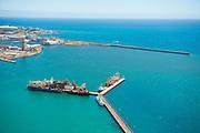 Cape Town Port breakwaters