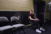 DALLAS, TX - MARCH 14:  Joanna Jedrzejczyk sits backstage after defeating Carla Esparza and becoming the new UFC women's strawweight champion during UFC 185 at the American Airlines Center on March 14, 2015 in Dallas, Texas. (Photo by Cooper Neill/Zuffa LLC/Zuffa LLC via Getty Images) *** Local Caption *** Joanna Jedrzejczyk