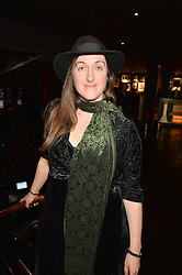 FRANCES HARDINGE at the Costa Book of The Year Awards held at Quaglino's, 16 Bury Street, London on 26th January 2016.