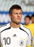 Fussball International U17 WM  Kolumbien - Deutschland Colombia 3-3 Germany Toni Kroos (GER)