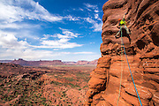 Desert Towers<br /> <br /> Australian born Adventure Photographer, John Price has captured some amazing shots of him and his team climbing the Desert Towers in Moab, Canada.<br /> Price is based in Canmore, Alberta, Canada, which is 20 minutes outside the border of Banff National Park ñ a world-class destination for such an outdoor enthusiast. Price moved to the Canadian Rockies in 2012 from Australia.<br /> Price became inspired to start photographing his climbing adventures after he moved to the Canadian Rockies and wanted to document all his experiences.<br /> before long I bought a DSLR and started carrying that on every climb, now I cant stop. Since then Iíve photographed climbing ascents in Australia, Nepal, Canada and the United States. My climbing inspires my photography and vice versa, creative cycle says Price.<br /> Price recently climbed the Desert Towers in April 2015 with two of his climbing partners. The towers took from between half a day to a full day depending on the tower. They climbed three towers; Castleton Tower, Ancient Art and Sister Superior. The towers are around 200 metres in height.<br /> ìPhotographing the ascents on these towers requires you to put a little more effort and take a bit more time to properly document the ascent says Price.<br /> The most dangerous climb Price has ever been on was actually last week, climbing the Greenwood/Locke on the north face of Mt Temple (3544m). It is a 1500 metre face of very loose limestone.<br />  <br /> ìWe experienced a lot of rock fall, in which case one rock his the side of my head. Luckily the bleeding stopped and it wasnt too serious. We had no choice but to continue up the route as retreating from the face would have exposed us to more rock fall and been more dangerous. We climbed the route in 16 hours, car to car.<br /> ©Exclusivepix Media