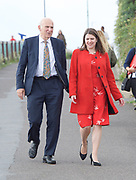 Liberal Democrats Annual Conference, Bournemouth International Centre, Bournemouth, Great Britain <br /> 19th September 2017 <br /> <br /> Vince Cable MP Leader of the Liberal Democrats and Jo Swinson - deputy leader of the party arrive at the conference centre ahead of his leaders' speech. <br /> <br /> <br /> <br /> <br /> Photograph by Elliott Franks <br /> Image licensed to Elliott Franks Photography Services