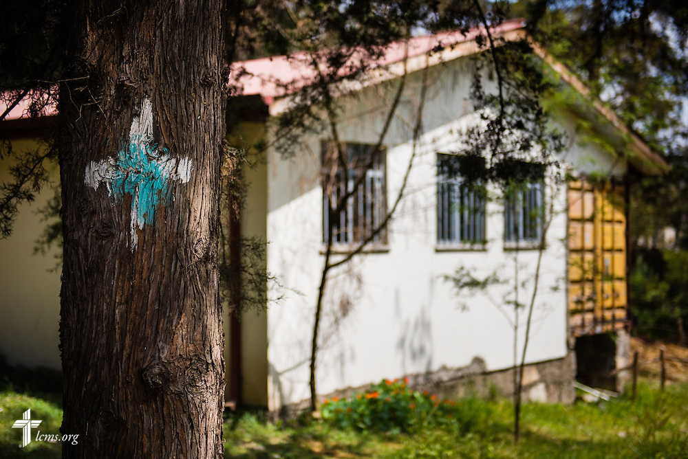 Exterior photograph of a classroom on Thursday, Nov. 13, 2014, at Mekane Yesus Seminary in Addis Ababa, Ethiopia. LCMS Communications/Erik M. Lunsford