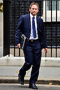 © Licensed to London News Pictures. 11/09/2012. Westminster, UK Minister without Portfolio - Grant Shapps. MP's arrive for Cabinet at number 10 Downing Street today 11/09/12. Photo credit : Stephen Simpson/LNP