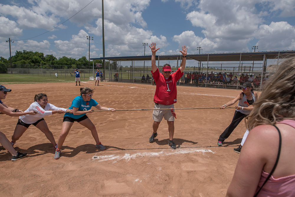 Photograph from the 2018 Houston Apartment Association Sports Challenge event on Friday, May 11, at the Houston Sportsplex on Highway 90. (Photograph by Mark Hiebert, HiebertPhotography.com)