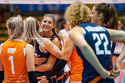 02-08-2019 ITA: FIVB Tokyo Volleyball Qualification 2019 / Belgium - Netherlands, Catania<br /> 1e match pool F in hall Pala Catania between Belgium - Netherlands. Netherlands win 3-0 / Anne Buijs #11 of Netherlands