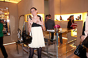 NINE D'URSO; DAUGHTER OF , Cocktail party to launch the Miss Viv bag. ( Smash-and-grab raiders seized more than a dozen  of the handbags but they were recovered after the raiders crashed their motorbike and the bags spilled out onto the street. )<br /> Roger Vivier, 188 Sloane Street, London SW1,