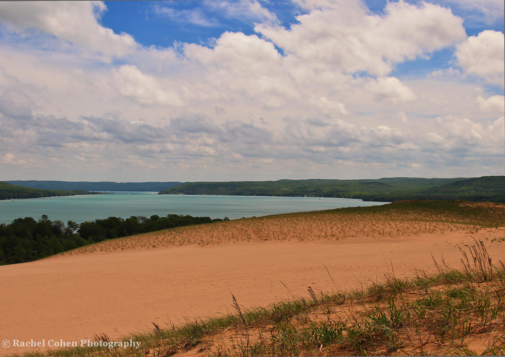 &quot;View from the Climb&quot; 2<br /> <br /> Scenic view of Glen Lake from the Dunes at Sleeping Bear Dunes National Lake Shore.
