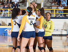 2015 A&T Volleyball vs NCCU