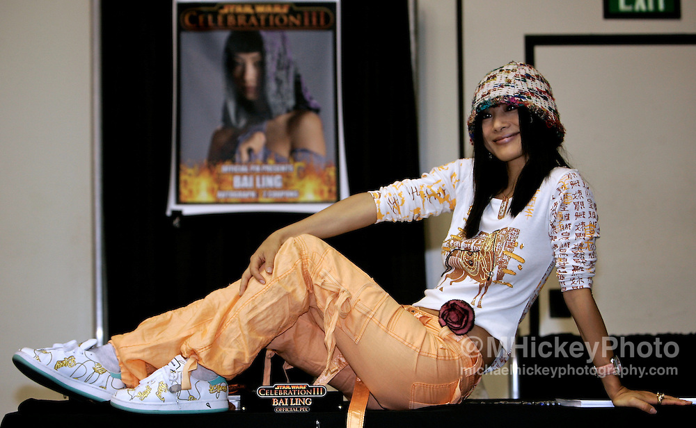Bai Ling at the Star Wars Celebration III convention in Indianapolis, IN. Photo by Michael Hickey