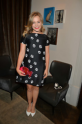 POPPY JAMIE at the Creme de la Mer Blue Marine Foundation Dinner held at The Arts Club, 40 Dover Street, London on 23rd June 2015.