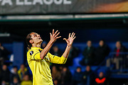 Enes Unal of Villarreal reacts during the UEFA Europa League, round of 32, 2nd leg football match between Villarreal CF and Olympique Lyonnais on february 22, 2018 at Ceramica Stadium in Vila-real, Spain - Photo Oscar J Barroso / Spain ProSportsImages / DPPI / ProSportsImages / DPPI