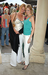 Left to right, Model OLIVIA INGE and her sister ALEXIA INGE at Michele Watches Kaleidoscope Summer Garden Party held at Home House, Portman Square, London on 15th June 2005.<br />