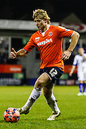 Scott Griffiths of Luton Town during the The FA Cup match at Kenilworth Road, Luton<br /> Picture by David Horn/Focus Images Ltd +44 7545 970036<br /> 16/12/2014