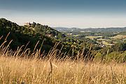 Landschaft mit Burg Lindenfels, Lindenfels, Odenwald, Hessen, Deutschland | Landscape with Burg Lindenfels, Lindenfels, Odenwald, Hesse, Germany