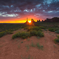 The Totem Pole is a pillar or rock spire found in Monument Valley.[3] It is a highly eroded remains of a butte.