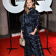 Niomi Smart Arrivers at GQ 30th Anniversary celebration at Sushisamba, The Market, Convent Garden on 29 October 2018.