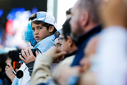 A young Argentina fan - Mandatory byline: Rogan Thomson/JMP - 07966 386802 - 25/09/2015 - RUGBY UNION - Kingsholm Stadium - Gloucester, England - Argentina v Georgia - Rugby World Cup 2015 Pool C.