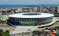 Football Fifa World Cup Brazil 2014 / <br /> Salvador de Bahia - Bahia - Brazil - <br /> Arena Fonte Nova - Panoramic View of Stadium , Ready for the next  <br /> FIFA World Cup Brazil 2014  , and able to accommodate a capacity of 52,048  Spectators