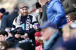 Bristol Rugby fans - Rogan Thomson/JMP - 26/12/2016 - RUGBY UNION - Ashton Gate Stadium - Bristol, England - Bristol Rugby v Worcester Warriors - Aviva Premiership Boxing Day Clash.