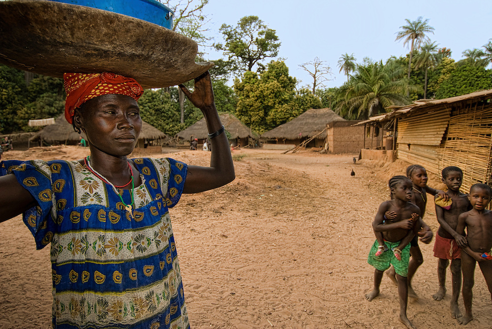 Bijagos Islands in Guinea Bissau