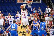 DESCRIZIONE : Berlino Berlin Eurobasket 2015 Group B Serbia Islanda <br /> GIOCATORE :  Nemanja Nedovic<br /> CATEGORIA : Controcampo tiro<br /> SQUADRA : Serbia<br /> EVENTO : Eurobasket 2015 Group B <br /> GARA : Serbia Islanda <br /> DATA : 08/09/2015 <br /> SPORT : Pallacanestro <br /> AUTORE : Agenzia Ciamillo-Castoria/I.Mancini <br /> Galleria : Eurobasket 2015 <br /> Fotonotizia : Berlino Berlin Eurobasket 2015 Group B Serbia Islanda