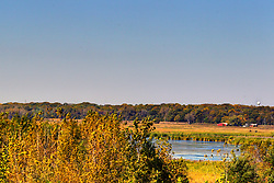 11 October 2015:  View looking northerly from the Arthur A. Nolan Jr. Observation Tower at the Sue and Wes Dixon Waterfowl Refuge at Hennepin & Hopper Lakes. Scenics from along the Illinois River Scenic Road and sites along the drive.  All images were between Ottawa and East Peoria.<br /> <br /> This image was produced in part utilizing High Dynamic Range (HDR) processes.  It should not be used editorially without being listed as an illustration or with a disclaimer.  It may or may not be an accurate representation of the scene as originally photographed and the finished image is the creation of the photographer.