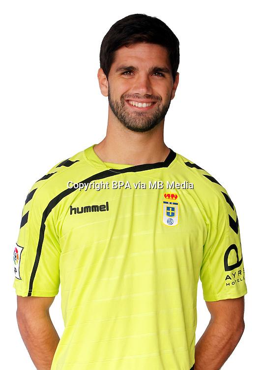Spain - La Liga Adelante 2015-2016 / <br /> ( Real Oviedo ) - <br /> Gorka Magunazelaia Garrido