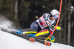 26.01.2020, Streif, Kitzbühel, AUT, FIS Weltcup Ski Alpin, Slalom, Herren, im Bild Dave Ryding (GBR) // Dave Ryding of United Kingdom in action during his run in the men's Slalom of FIS Ski Alpine World Cup at the Streif in Kitzbühel, Austria on 2020/01/26. EXPA Pictures © 2020, PhotoCredit: EXPA/ Johann Groder