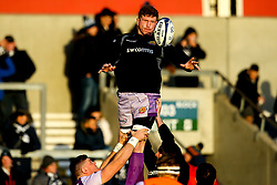 Jacques Vermeulen of Exeter Chiefs - Mandatory by-line: Robbie Stephenson/JMP - 08/12/2019 - RUGBY - AJ Bell Stadium - Manchester, England - Sale Sharks v Exeter Chiefs - Heineken Champions Cup