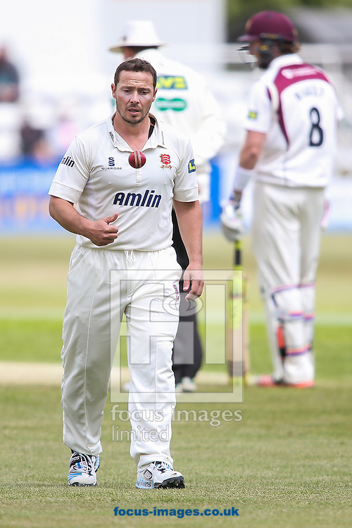 Graham Napier of Essex during the LV County Championship Div Two match at the County Ground, Northampton<br /> Picture by Andy Kearns/Focus Images Ltd 0781 864 4264<br /> 08/06/2015