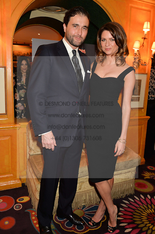 GABRIELA PEACOCK and DAVID PEACOCK at the launch of GP Nutrition held at Annabel's, 44 Berkeley Square, London on 26th January 2016.
