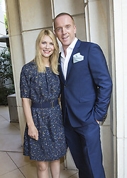 July 29, 2013 - Hollywood, California, U.S. - BEVERLY HILLS, CA - JULY 29: Portrait of Damian Lewis, Claire Danes promoting 'Homeland' at the Peninsula Hotel on July 29, 2013 in Beverly Hills, California. (Credit Image: © Armando Gallo via ZUMA Studio)