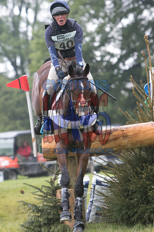 Flora Harris (GBR) BAYANO, Winners of the Equi-Trek CCI*** at the Equi-Trek Bramham International Horse Trials 2015