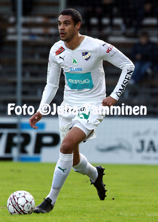 29.4.2016, Tammelan stadion, Tampere.<br /> Veikkausliiga 2016.<br /> Ilves - IFK Mariehamn.<br /> Bobbie Friberg da Cruz - IFK Mhamn