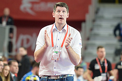Daniel Kubes, head coach of Czech Republic during handball match between National teams of Slovenia and Czech Republic on Day 7 in Main Round of Men's EHF EURO 2018, on January 24, 2018 in Arena Varazdin, Varazdin, Croatia. Photo by Mario Horvat / Sportida