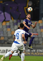 Saša Ivković of Maribor in action during football match between NK Maribor and NK Celje in Round #24 of Prva liga Telekom Slovenije 2018/19, on March 30, 2019 in stadium Ljudski vrt, Maribor, Slovenia. Photo by Milos Vujinovic / Sportida