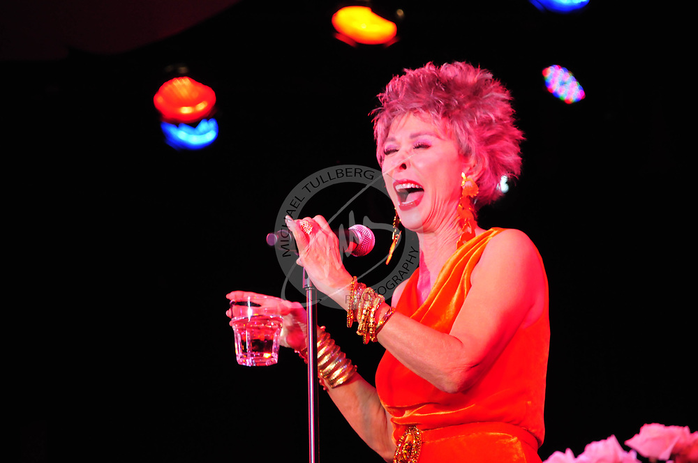 Rita Moreno performs at the Conga Room in Los Angeles.