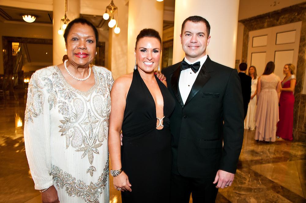 Lois Jordan, Nikki and Rob Peal